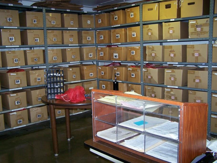 pièces ou vont les objets confisqués